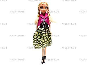 Кукла для девочек «Принцесса», WQ1412ABC, игрушки