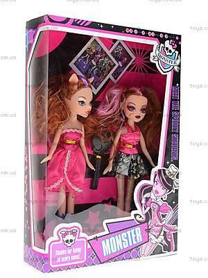 Куклы Monster High, с аксессуарами, M12383238A, игрушки