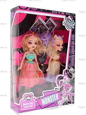 Куклы Monster High, с аксессуарами, M12383238A, магазин игрушек