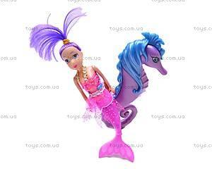 Куклы-русалочки с дельфином и морским коньком, 080083, фото