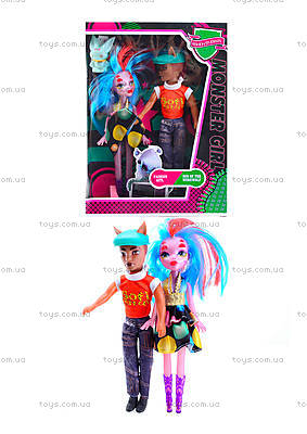 Семья кукол типа Monster High, MG-201