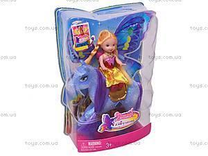 Куколка-фея, с пегасом, 66332, купить