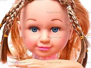 Куколка с аксессуарами для девочек, 22-13B, купить