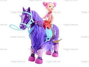 Куколка с лошадкой , 686-319320, игрушки