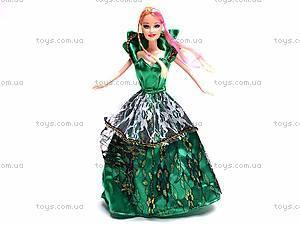 Куколка с набором платьев, 6688-A