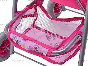 Кукольная коляска-трость, сидячая, FL8188, фото