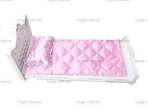 Кукольная кроватка «Сонечка», С-131-Ф, отзывы