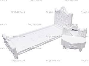 Кукольная мебель для спальни «Сонечка», С-128-Ф, купить