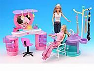 Кукольная мебель Gloria «Парикмахерская», 2509, игрушки