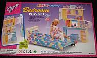 Кукольная мебель Gloria «Спальня с трюмо», 21014, купить