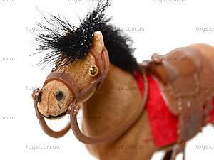 Кукольная велюровая лошадка, 217, цена
