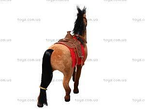Кукольная велюровая лошадка, 217, детские игрушки