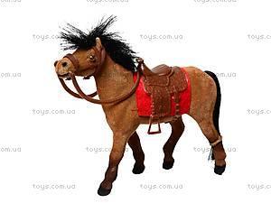 Кукольная велюровая лошадка, 217, магазин игрушек