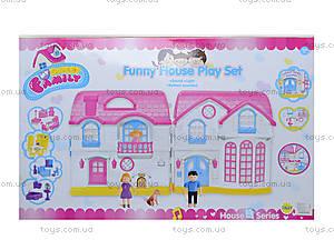 Кукольный дом с куклами, мебелью, эффектами, 1201AC, фото
