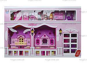 Кукольный дом с куклами и мебелью, в коробке, 221, отзывы