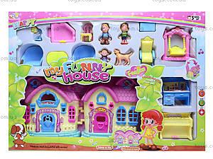 Кукольный дом с куклами и мебелью, 39213921-1, купить
