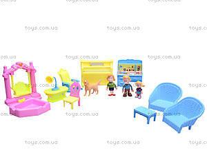 Кукольный дом с куклами и мебелью, 39213921-1, фото