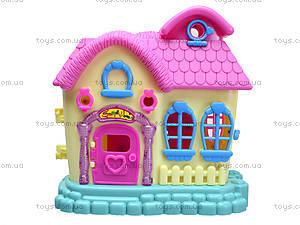 Кукольный дом с куклами и мебелью, 39213921-1, игрушки
