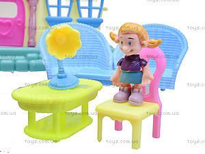 Кукольный дом с куклами и мебелью, 39213921-1, магазин игрушек