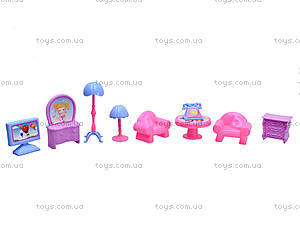 Кукольный домик с мебелью «Милый дом», 589-12, фото