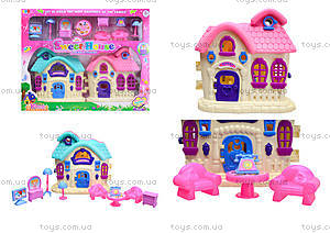 Кукольный домик с мебелью «Милый дом», 589-12