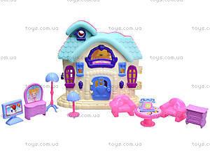 Кукольный домик с мебелью «Милый дом», 589-12, игрушки