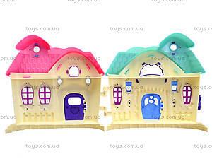 Кукольный домик с мебелью «Милый дом», 589-12, магазин игрушек