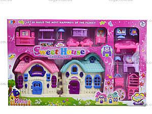 Кукольный домик с мебелью, 589-13, фото