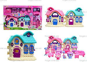 Кукольный домик с мебелью, 589-13