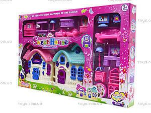 Кукольный домик с мебелью, 589-13, отзывы