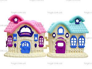 Кукольный домик с мебелью, 589-13, магазин игрушек