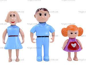 Детский кукольный дом с куклами и мебелью, 589-30, отзывы