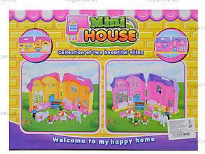 Кукольный дом с куклами, мебелью, 805805A, купить