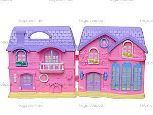 Кукольный дом с куклами, мебелью, 805805A, фото