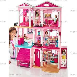 Кукольный дом мечты Barbie «Малибу», CJR47, фото