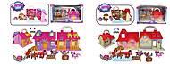 """Кукольный дом """"Petshop"""" с героями и мебелью, 2 вида, TM698AB"""