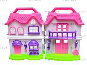 Кукольный дом с мебелью, BS866-1A, цена
