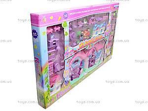 Кукольный дом с мебелью и техникой, 666-665