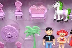 Кукольный дом с мебелью и техникой, 666-665, цена