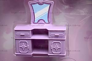 Кукольный дом с мебелью и техникой, 666-665, детские игрушки