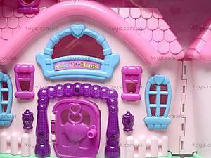 Кукольный дом с мебелью и техникой, 666-665, toys.com.ua