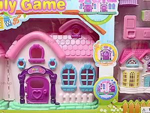 Кукольный дом с мебелью и техникой, 666-665, toys