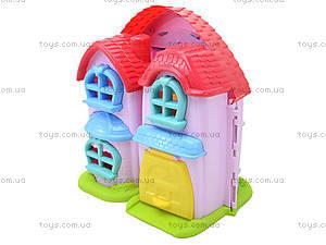 Кукольный дом с музыкальным эффектом и куклами, 32668, фото