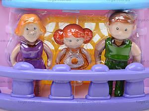 Кукольный дом с музыкальным эффектом и куклами, 32668, отзывы