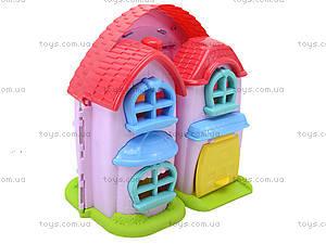 Кукольный дом с музыкальным эффектом и куклами, 32668, игрушки