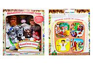 Кукольный домашний театр «Соломенный бычок», B162B155, интернет магазин22 игрушки Украина