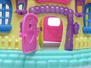 Кукольный домик детский, 3358E, игрушки
