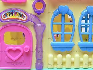 Кукольный домик детский, 3358E, детские игрушки