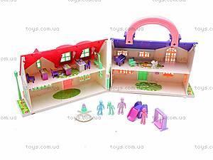 Кукольный домик для детей, 08218A