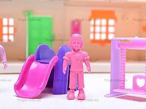 Кукольный домик для детей, 08218A, детские игрушки